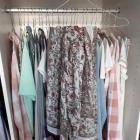 H&M duża chusta z haftem romantyczna mango zara