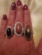 Moje ulubione srebrne pierścionki