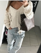Jasny sweter Zara...