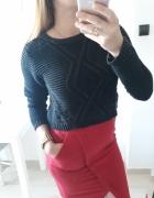 HM sweter crop top czarny S...