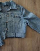 Kurtka katana jeansowa krótka Reserved r 38