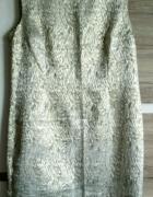 Złotosrebrna sukienka rozm 48