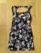 Sukienka mini w kwiaty Top Shop rozmiar S