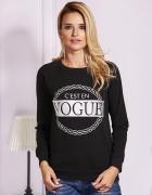 Bluza damska z napisem VOGUE