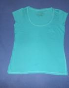 Koszulka bluzka turkusowa 42