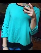 Piękna turkusowa bluzka