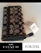 COACH oryginalny portfel