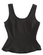 Bluzka Czarna Gorset Modelująca Goth 38 M...
