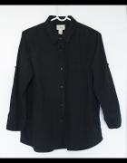 Koszula Levis Czarna Oldschool Vintage Bawełna 38M