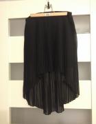 geometryczna plisowana spódnica