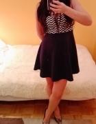 Sukienka w marynarskie pas Wysylka GRATIS...
