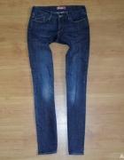 4 hm jeansowe spodnie damskie 28...