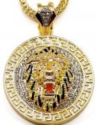 Wisiorek z głowa lwa