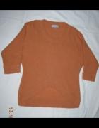 Ciepły sweter asymetryczny Be Beau 42