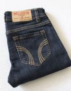 spodnie jeansowe hollister xs