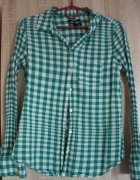 Koszula w zielono białą kratę firmy GAP r XS...