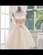 Sukienka tiulowa 36 38 S M balowa ksieżniczka