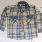 koszula chłopięca z elem jeansowymi 128