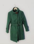 Zielony płaszcz CARRY S M...