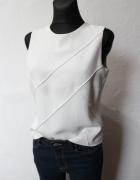 Elegancka białą bluzka r M