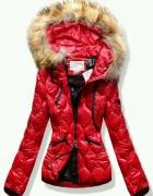 kurtka czerwona s