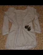 Bluza z dłuzszum tyłem S M