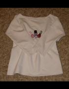 Biała Bluza R Uniwersalny