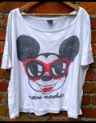 koszulka myszka mickey oversize...