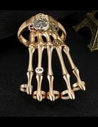 Ozdoba ręka goth gothic skeleton steampunk cyber...
