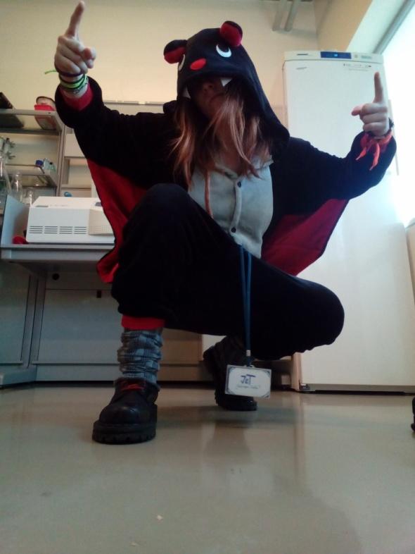 Mój styl Halloweenowo D