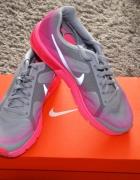 Nike Air Max Sequent neonowy róż szary 38...