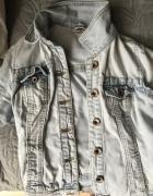 Katana jeansowa kurtka bershka...
