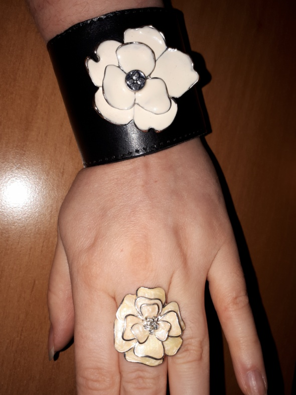 Mój styl Bransoleta i pierścionek
