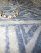Srebrna bransoletka z różami 925...