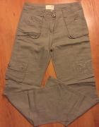 Spodnie lniane rozmiar XS