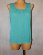 Bluzeczka w kolorze morskim 36 38
