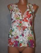 Bluzeczka w kwiaty Top Shop 36 8 S