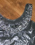 Reserved elegancka bluzeczka kamienie roz 42