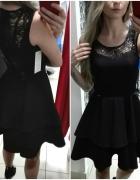 Czarna sukienka L 40