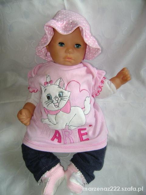 Disney różowa bluzka roz 0 3 msc...