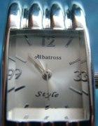 srebrny zegarek bransoleta