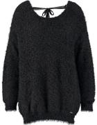 Kaporal sweter czarny 36 gole plecy wiązanie