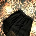 Czarna Asymetryczna Spodniczka HIT