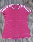 Adidas climalite koszulka różówa czarna response