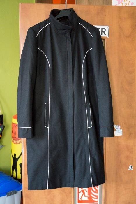 Płaszcz Top Secret czarny wiosna r 40 L...