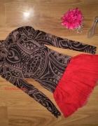 cudna czerwona spódniczka