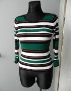 Prążkowany sweter paski Reserved SM