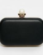 Elegancka torebka Asos perła puzderko wieczorowa