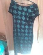 sliczna sukienka cekinki l xl nowa