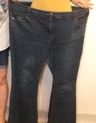 Modne spodnie jeansowe South Rozmiar 52...